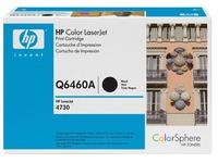 HP 644A - zwart - origineel - LaserJet - tonercartridge (Q6460A)