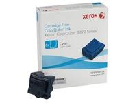 Xerox ColorQube 8870 - 6 - cyaan - vaste inkten