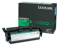 T650H80G LEXMARK T650 REM. TONER BLK HC