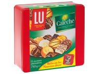 Gebäck Calèche in Metallkasten 750 g