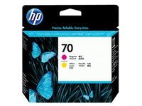 HP 70 - geel, magenta - printkop (C9406A)