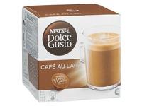 Doos met 16 capsules café au lait Nescafé Dolce Gusto