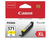Canon CLI571XL cartridges met hoge capaciteit afzonderlijke kleuren voor inkjetprinter