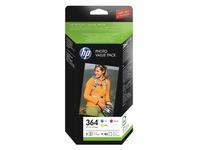 T9D88EE HP OJ INK (3) CMY + PAPER