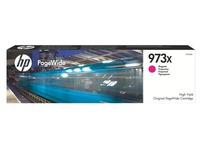 Cartridge HP 973X geel hoge capaciteit voor inkjetprinter