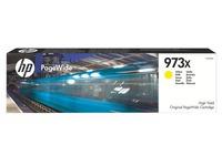 Cartridge HP 973X kleuren hoge capaciteit voor inkjetprinter