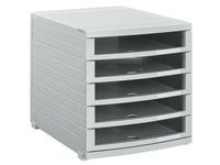 Classification module Contur Han 5 open drawers grey