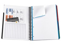 Notebook Oxford Europeanbook A4+ 22.2 x 29.8 cm - 5 x 5 - 240 pages