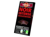 Tablet zwarte chocolade 60% bio intens - 100g