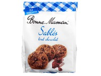 Bonne Maman shortbread cookies with chocolate - Bag of 150 g