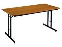 Table multi-usage à pieds pliants 160 x 80 cm