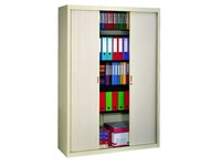 High tambour cabinet dismountlable specific width 200 x 140 cm