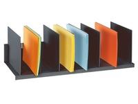 Trieur de classement 8 séparations réglables couleur