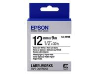 Epson LabelWorks LK-4WBB - etikettape - 1 rol(len) (C53S654023)