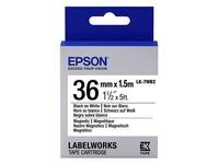 Epson LabelWorks LK-7WB2 - magnetische labels - 1 rol(len) (C53S657002)