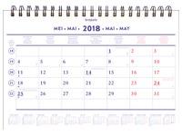 Maandkalender 2018 Brepols