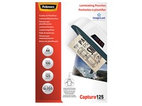 Fellowes Laminating Pouches A4 2 x 125 - 100 Sheets