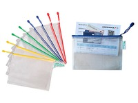 Sleeve with zipper A6 Tarifold landscape - pack of 8