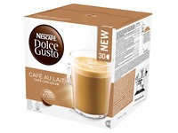 Coffee capsules Dolce Gusto Nescafé coffee with milk - pack of 30