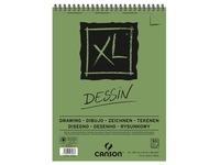 Canson tekenblok XL 160g/m&² ft A3, 50 vel