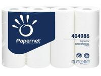 Papernet Essuie-tout Superior, 3-pages, 51 feuilles, paquet de 4 rouleaux