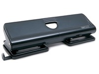 Rapesco Office Hole Punch 4 Holes Black - 22 Sheet Capacity