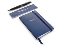 Waterman boîte cadeau Expert stylo plume medium + carnet, noir
