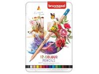 Crayons de couleur Bruynzeel Expression Colour Boîte de 12 pièces