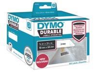 DYMO LabelWriter DURABLE - streepjescode-etiketten - 900 etiket(ten) - 64 x 19 mm