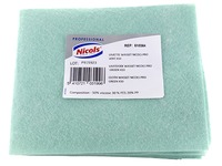 Dishcloths Wasset non-woven green - pack of 10
