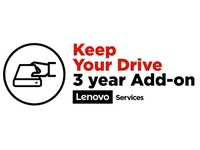 Lenovo Keep Your Drive Add On - uitgebreide serviceovereenkomst - 3 jaren