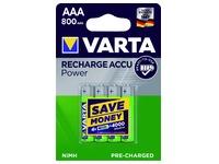 Pile rechargeable Varta 4xAAA 800mAh Ready To Use