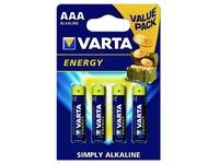Pile Varta Energy 4xAAA