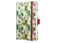Notitieboek Sigel Jolie Beauty A6 lijn Limegreen tropics