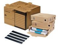 Loeff's boîte d'archivage starterkit standard, carton ondulé, marron