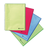 blauw groen rood spiraal mapjes Exacompta spiraal schriften documentbeschermers presentatiemap