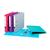 label grijpoog hefboom gekleurd etiket verstevigd ringmappen